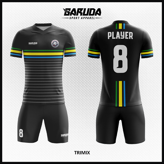 desain kostum sepakbola printing code TRIMIX