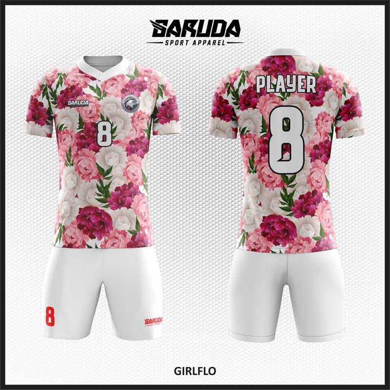 Desain Jersey Sepakbola Code Girlflo Cocok Untuk Tim Wanita