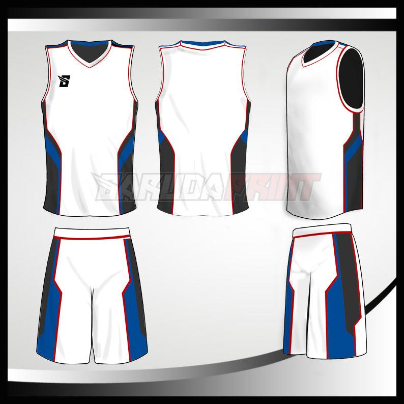1.KOSTUM BASKET CODE-01 Jasa pembuatan kostum basket