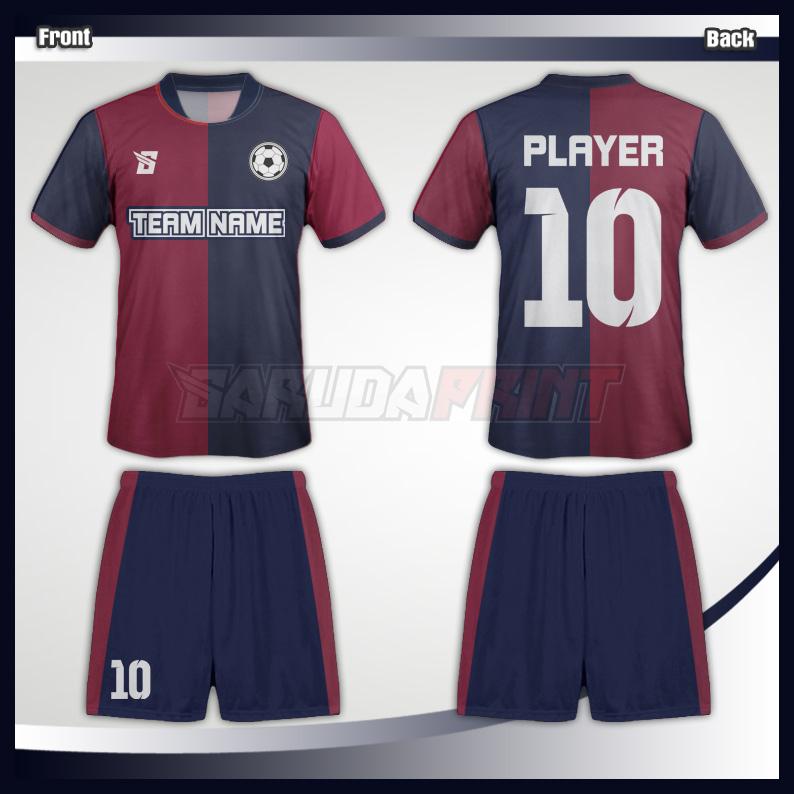 3. JERSEY FUTSAL CODE -03 Jasa printing jersey futsal