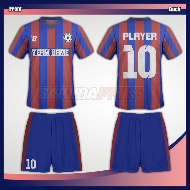 6.JERSEY BOLA CODE-06 Jasa printing jersey bola