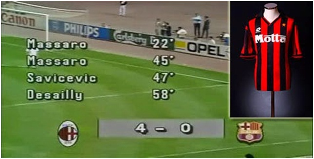 Jersey AC Milan 1993-1994