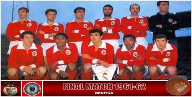 Jersey Benfica 1962
