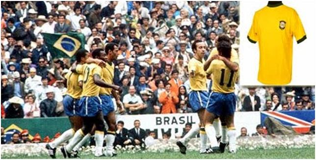 Jersey Brazil 1970
