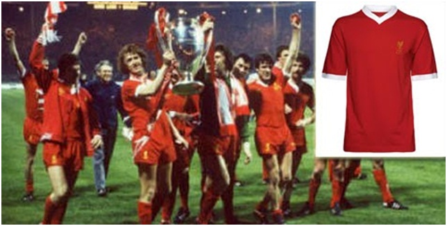 Jersey Liverpool 1977