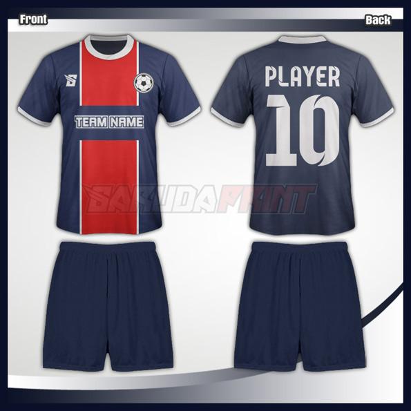 Desain- Baju- Futsal -Code 10