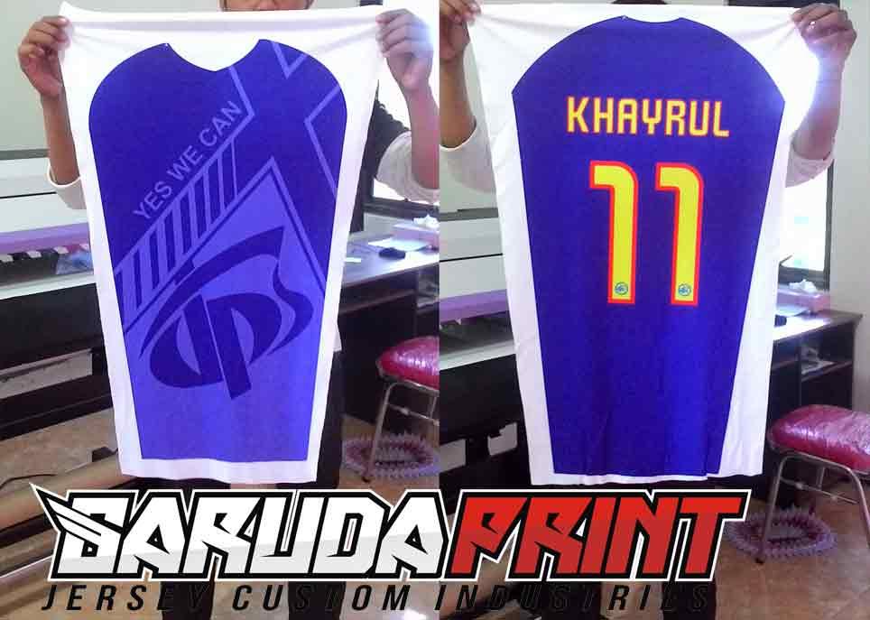 Jasa Bikin Baju Futsal / Baju Bola  Di Wilayah Bandung