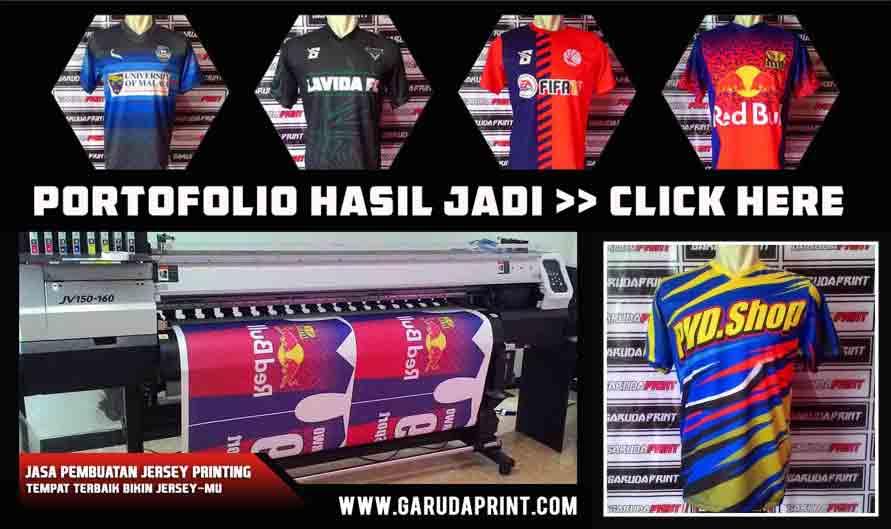 Harga Pesan Jersey Futsal Lusinan Kualitas Printing Juni 2016