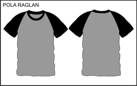 Perbedaan Pola Oblong Dan Raglan Desain Baju Futsal Garuda Print