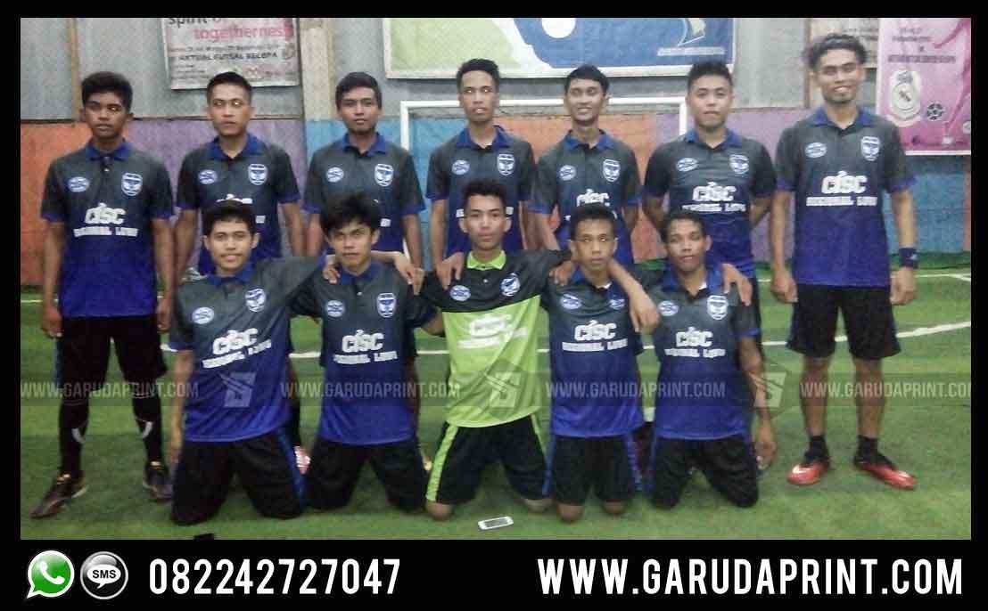 Pembuatan Kostum Futsal CISC Regional Luwu
