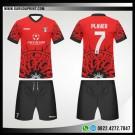 Desain Kaos Futsal 72- Ring Of Fire