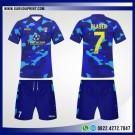 Desain Baju Futsal 80 – Blue Army