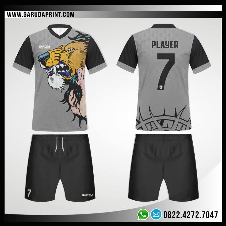 Desain Baju Futsal 76 - Lyon Attack