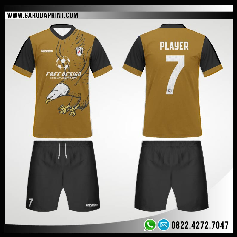 Desain Jersey Futsal 78 - Eagle Fly