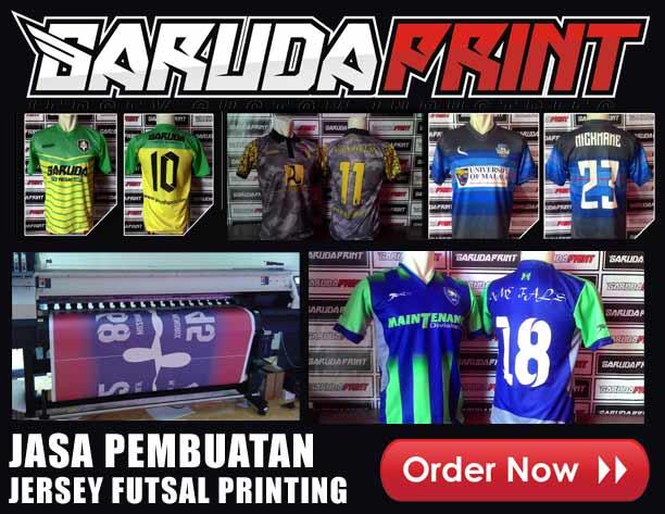 jasa buat Kostum Futsal Desain Sendiri