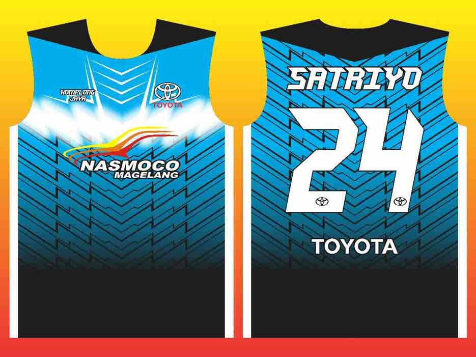 Hasil Produksi Dan Portofolio Pembuatan Jersey Futsal Nasmoco