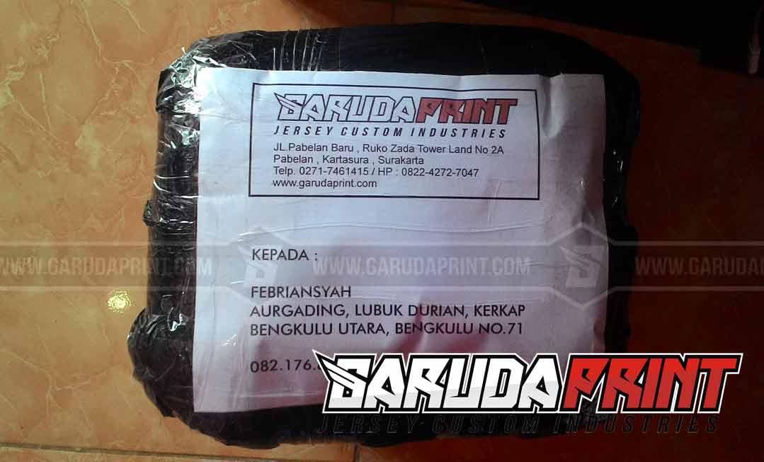 Pembuatan Jersey Futsal Pesanan Dari Bengkulu