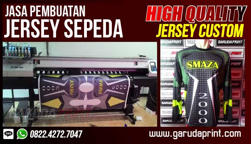 Pembuatan Baju Jersey Sepeda Online
