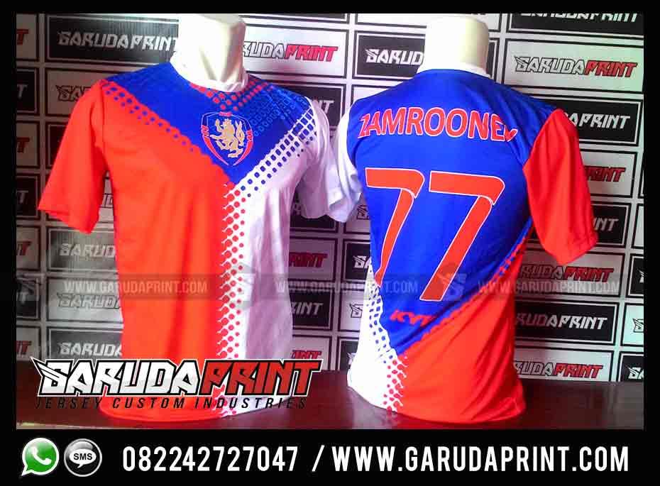 Melayani Pembuatan Jersey / Kaos Futsal Printing Wilayah Batam