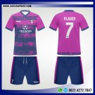 Desain Kostum Bola Futsal 98 – Floral