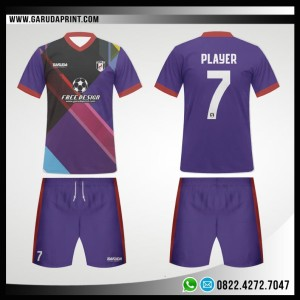 Desain Kaos Futsal 99 – Violeta