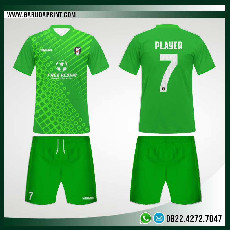 Desain Seragam Bola Futsal 92 - Evergreen