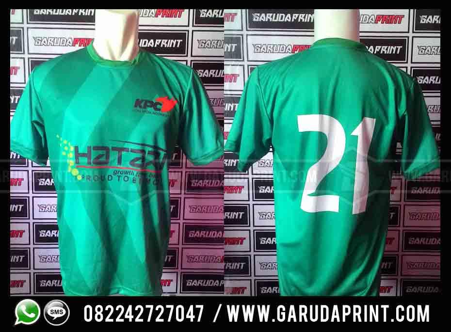 Pembuatan Jersey Olahraga Futsal KPC Sangatta Kutai Timur