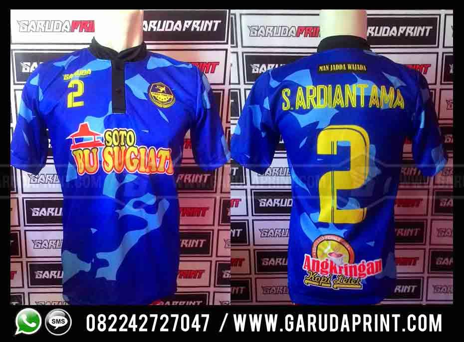 Produksi Pembuatan Kaos Tim Futsal Dari Pacitan Jawa Timur