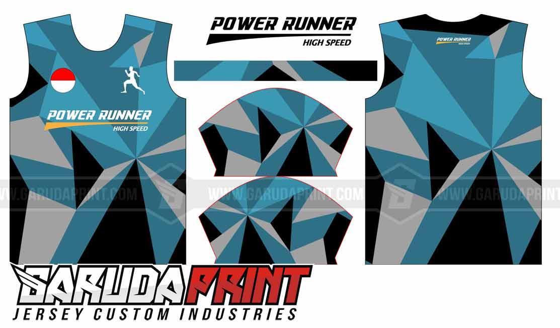 desain jersey lari buatan sendiri