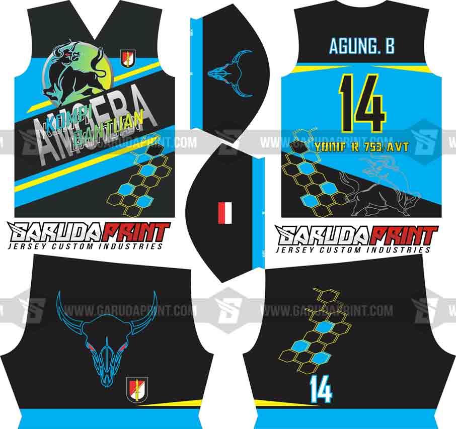 Bikin Kaos / Jersey Futsal Tentara