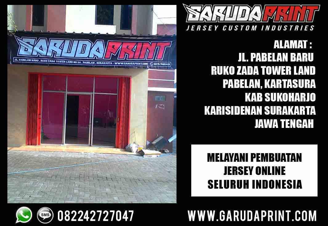 Melayani pembuatan jersey printing di Banjarnegara - Jawa Tengah