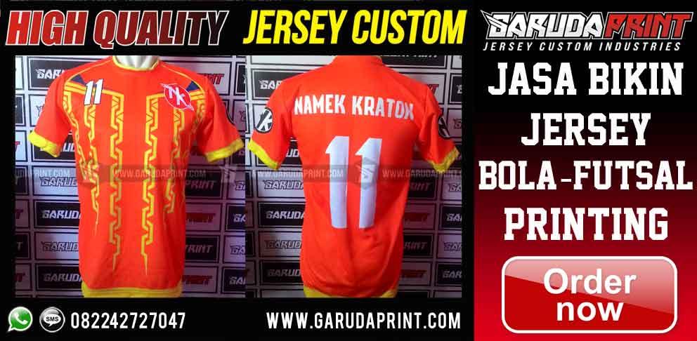 jasa Pembuat Jersey Full Printing Online di Mojokerto