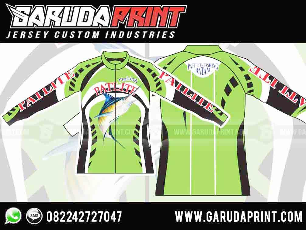 Desain jersey mancing model jaket