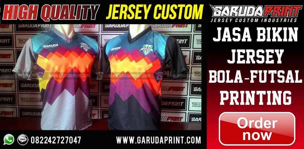 Pembuatan Pemesanan Kostum Jersey Printing