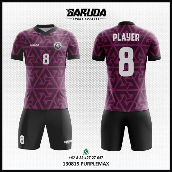 Desain Jersey Seragam Futsal PurpleMax
