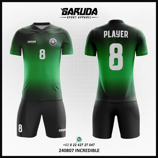 Desain Kostum Bola Futsal Incredible