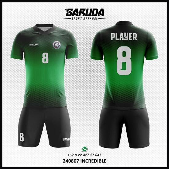 Desain Kostum Bola Futsal Incredible