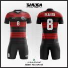 Desain Kostum Jersey Futsal Rossonera