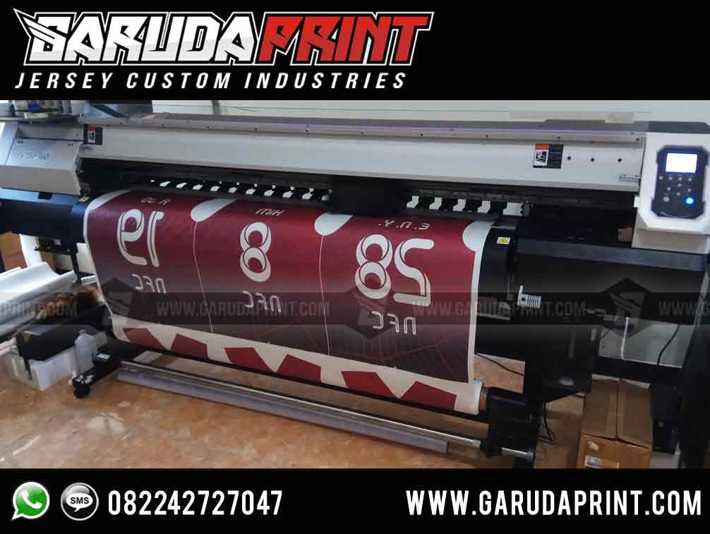 Jasa Bikin / Pembuatan Jersey Full Printing Berkualitas Tinggi di Tarakan
