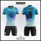 Desain Jersey Bola / Futsal Skyline
