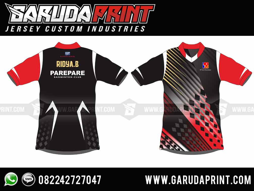 desain jersey printing pare pare