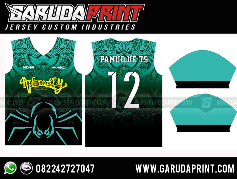 desain kaos futsal printing