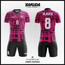 Desain Kostum Bola Futsal Matrixs