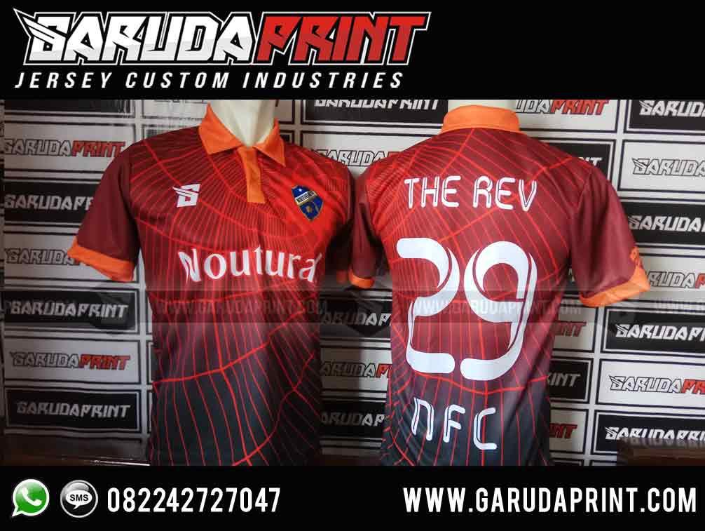 konveksi baju futsal printing tarakan