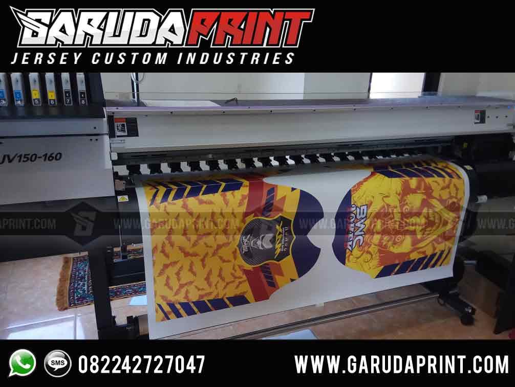 Terima Pemesanan Jersey Full Printing Berkualitas Tinggi di Balikpapan