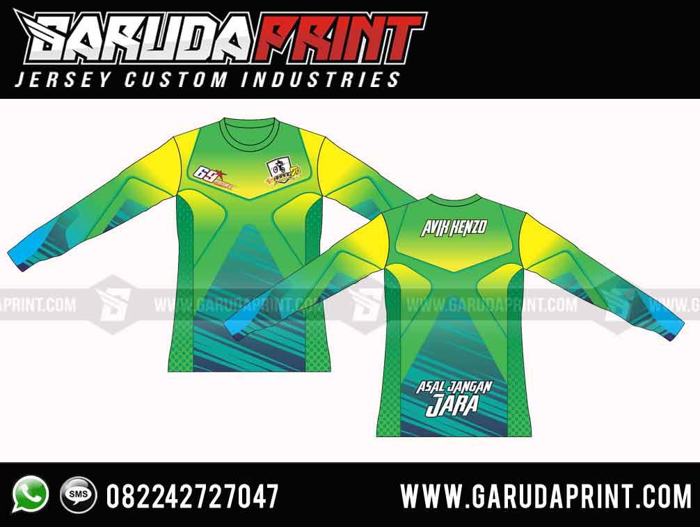 DESAIN Jersey Sepeda GT Full Printing