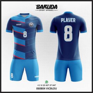 Desain Jersey Bola / Futsal Vicblou