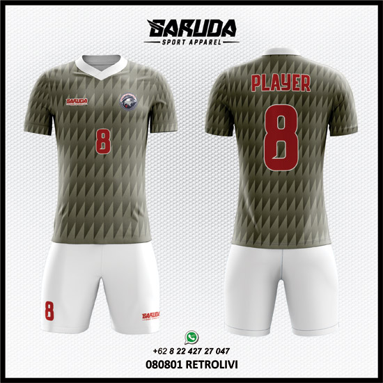 Desain Kaos Futsal Retrolivi