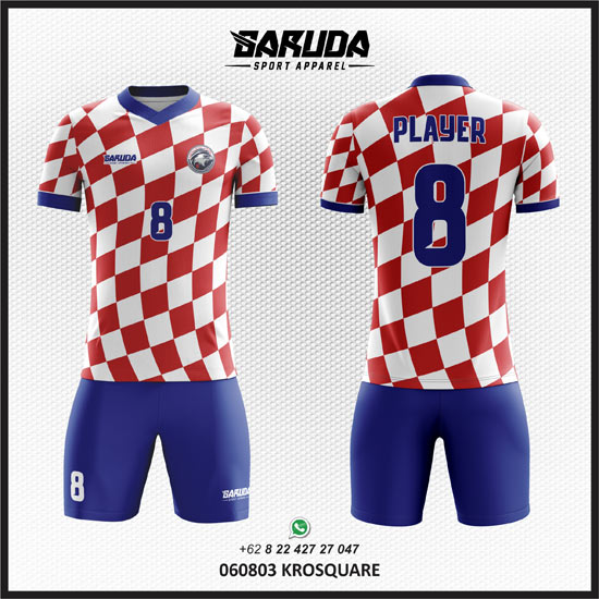 Desain Seragam Futsal dan sepak Bola Krosquare