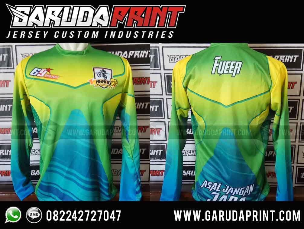 PEMBUATAN Jersey Sepeda GT Full Printing